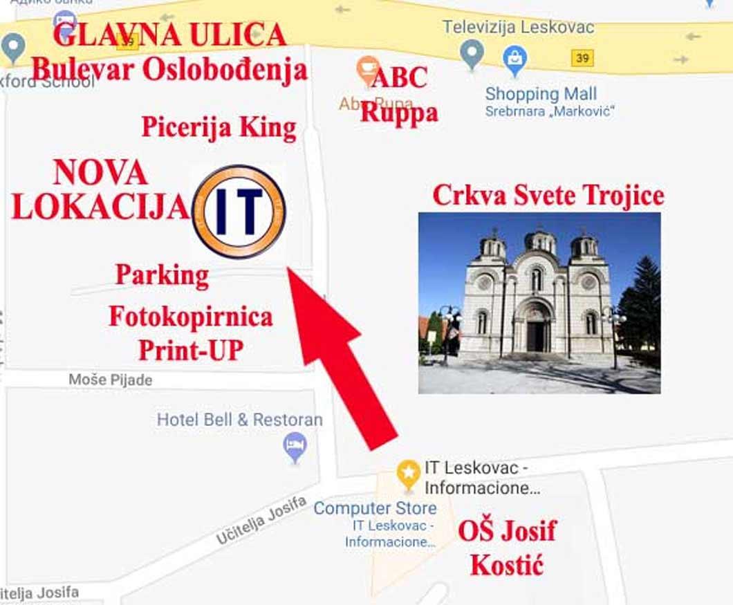 Adresa IT Leskovac